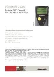 Swissphone DE920
