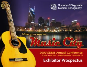 2009 SDMS Annual Conference Advertising Opportunities