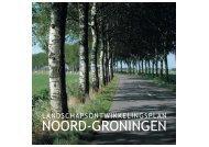 Landschapsontwikkelingsplan Noord-Groningen - Provincie ...