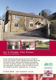 Ivy Cottage, Key Green,