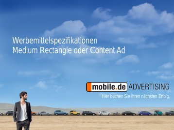 Medium Rectangle - mobile.de Advertising