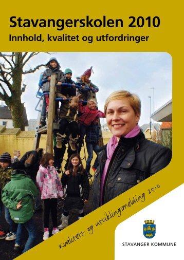 Stavangerskolen 2010 - Stavanger kommune