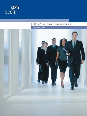 3Com® Enterprise Solutions Guide - Recursos VoIP