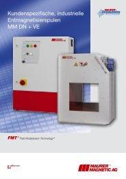Industrieller FMT-Entmagnetisierer MM DN + VE - Maurer Magnetic AG