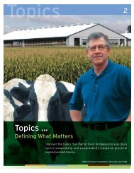 Topics - Innovation Center for US Dairy