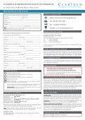 3rd Annual CFO Program: Changing Role of the ... - Clariden Global - Page 5