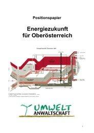 Energiezukunft für Oberösterreich - Oö. Umweltanwaltschaft