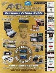 Consumer Pricing Guide - AM Distributors