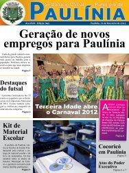 Geração de novos empregos para Paulínia - Prefeitura Municipal de ...