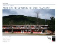 auke bay elementary school planning - City and Borough of Juneau