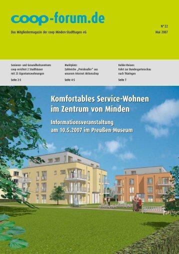 Informationsveranstaltung am 10.05.2007, 18.00 Uhr im Preußen ...