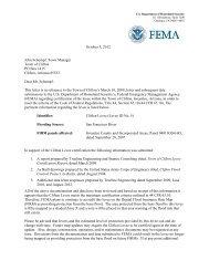Accreditation Letter - FEMA Region 9