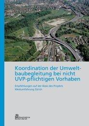 Dokumente als PDF - Tiefbauamt - Kanton Zürich
