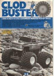 Tamiya Clodbuster Manual - Wheelsacademy.info