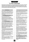Deutsch - Schuss Home Electronic - Seite 3