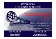CMC Zawiercie - Polski Kongres Drogowy