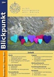 Blickpunkt - Kirchenkreis Burgdorf