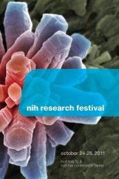 NIH Research Festival October 24-28, 2011