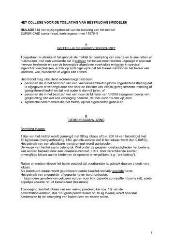Gebruiksvoorschrift - Bayer Pestcontrol Expert