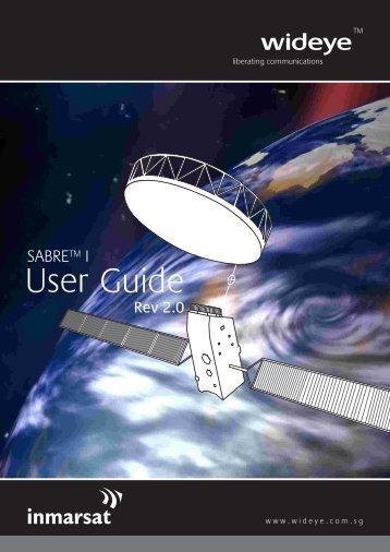 Wideye SABRE 1 User Guide - Roadpost