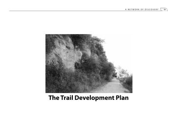 The Trail Development Plan - Nebraska Game and Parks Commission