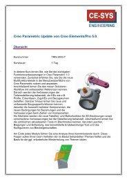 Creo Parametric Update von Creo Elements/Pro 5.0