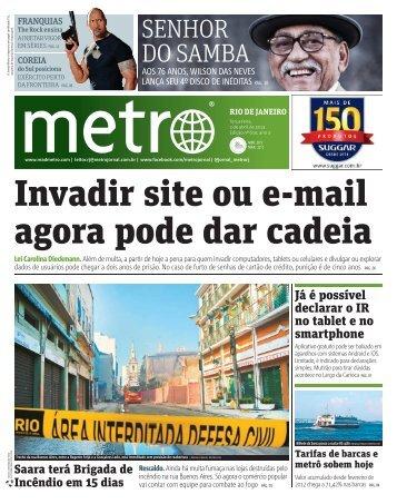 SENHOR DO SAMBA - Metro