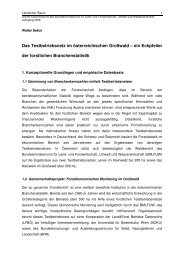 Das Testbetriebsnetz im österreichischen Großwald – ein ... - Boku
