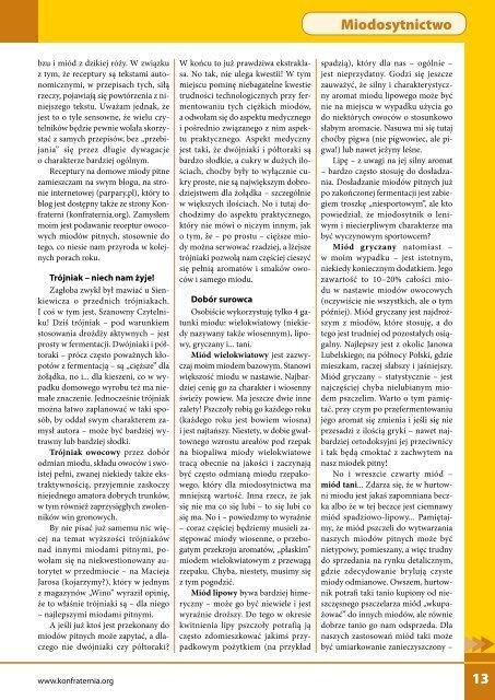 Rerum gestarum Miodosytnictwo Pszczelarstwo Kuchnia ... - Chef Paul