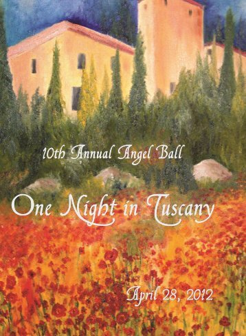 One Night in Tuscany - Share Pregnancy & Infant Loss Support, Inc.