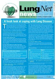 LungNet News February 2001 - Lung Foundation