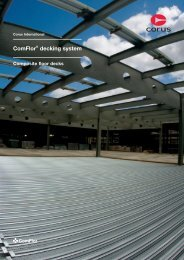 ComFlor® decking system - Tata Steel