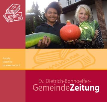 September 2013 - dietrich-bonhoeffer-gemeinde.de