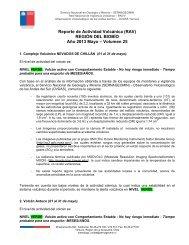 Reporte de Actividad Volcánica (RAV) REGIÓN DEL ... - Sernageomin