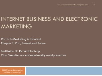 internet business and electronic marketing - VIVA University
