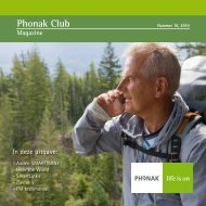 Phonak Club Magazine