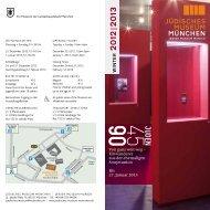 2012|2013 - Jüdisches Museum München