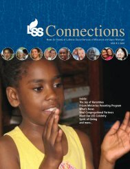 2009 Connections Issue 2 - Lutheran Social Services of Wisconsin ...