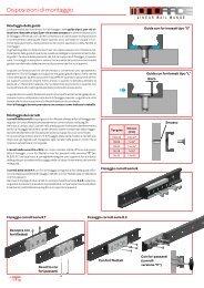 Istruzioni montaggio MONORACE - T RACE SpA