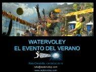 WATERVOLEY EL EVENTO DEL VERANO - Tu patrocinio