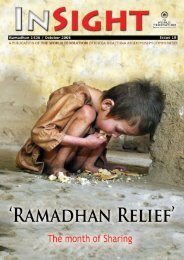 INSIGHT (Ramadhan 1426 - October 2005) in PDF format