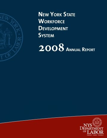 Annual Report - PY - New York State Department of Labor