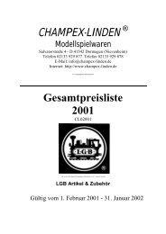 CL Liefersortiment - Champex-Linden