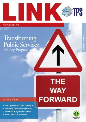 Final Link Newsletter - Department of Public Expenditure and Reform