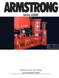 Vertical In-Line Fire Pump Product Information - Armstrong Pumps