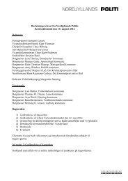 Referat af kredsrådsmøde 15. august 2012 - Politiets