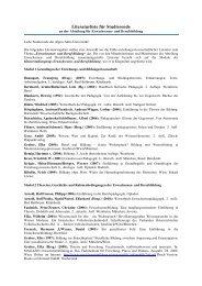 Literaturliste für MA Studierende eb - Universität Klagenfurt