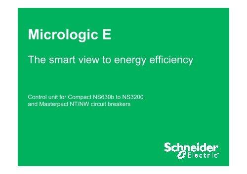Micrologic E - Schneider Electric