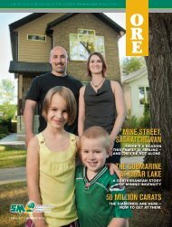 mine street, saskatchewan - Saskatchewan Mining Association