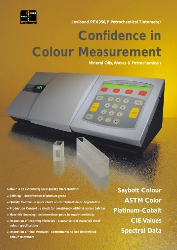 Confidence in Colour Measurement